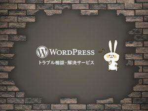 WordPressトラブル相談・解決サービス