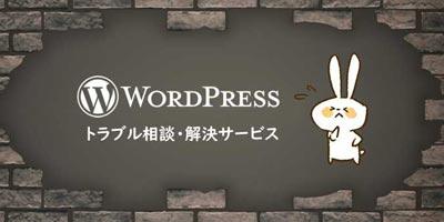 WordPressトラブル相談・解決代行サービス