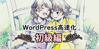 WordPress高速化【初級編:どこから手を付ける?】